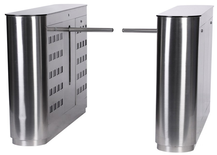 304 Stainless Steel Mechanical Antipinch Auto Drop Arm Turnstile