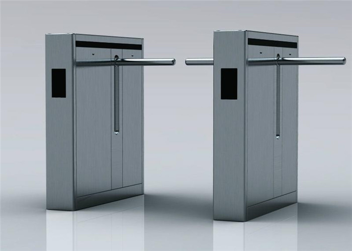 Double Way Intelligent 316SS Drop Arm Turnstile Crowd Control System For Airport