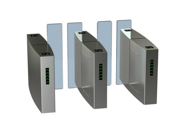 Multi - Channel Waist Height Turnstiles Stainless Steel Turnstile For Access Control System