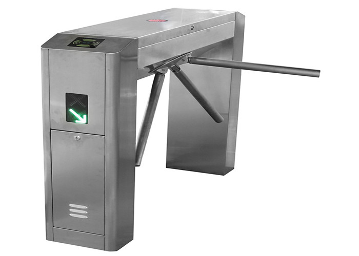 Crowd Control Bridge Type Waist High Turnstile With Head Counter