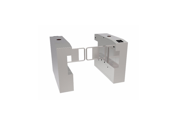 Multiple Access Control Pedestrian Biometrics Swing Barrier Gate With Fingerprint Recognition RFID Reader