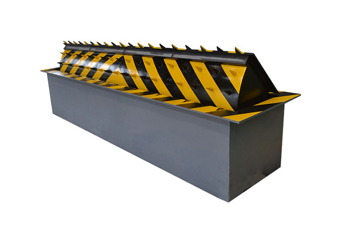 Hydraulic Retractable Automatic Road Blocker IP68 Waterproof Security With APP Control