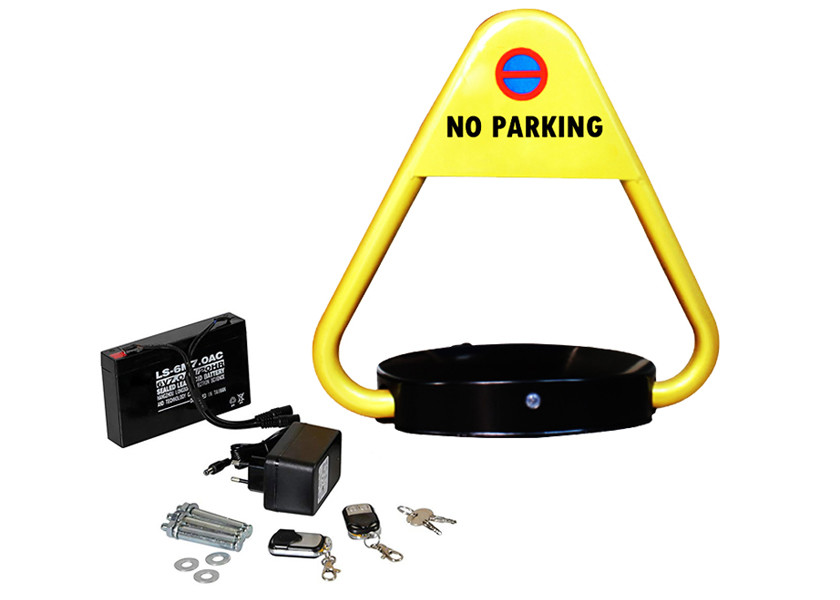 Outdoor Public Vehicle Parking Space Barrier , Parking Space Lock With DC 6V Battery
