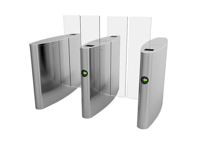 Smart DC Brushless Motor Turnstile Access Control System For Security Control